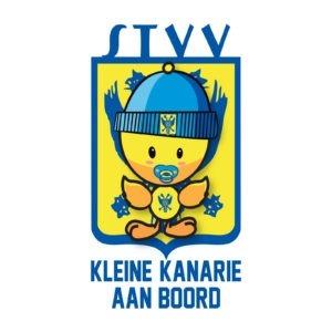 STICKER KLEINE KANARIE STVV